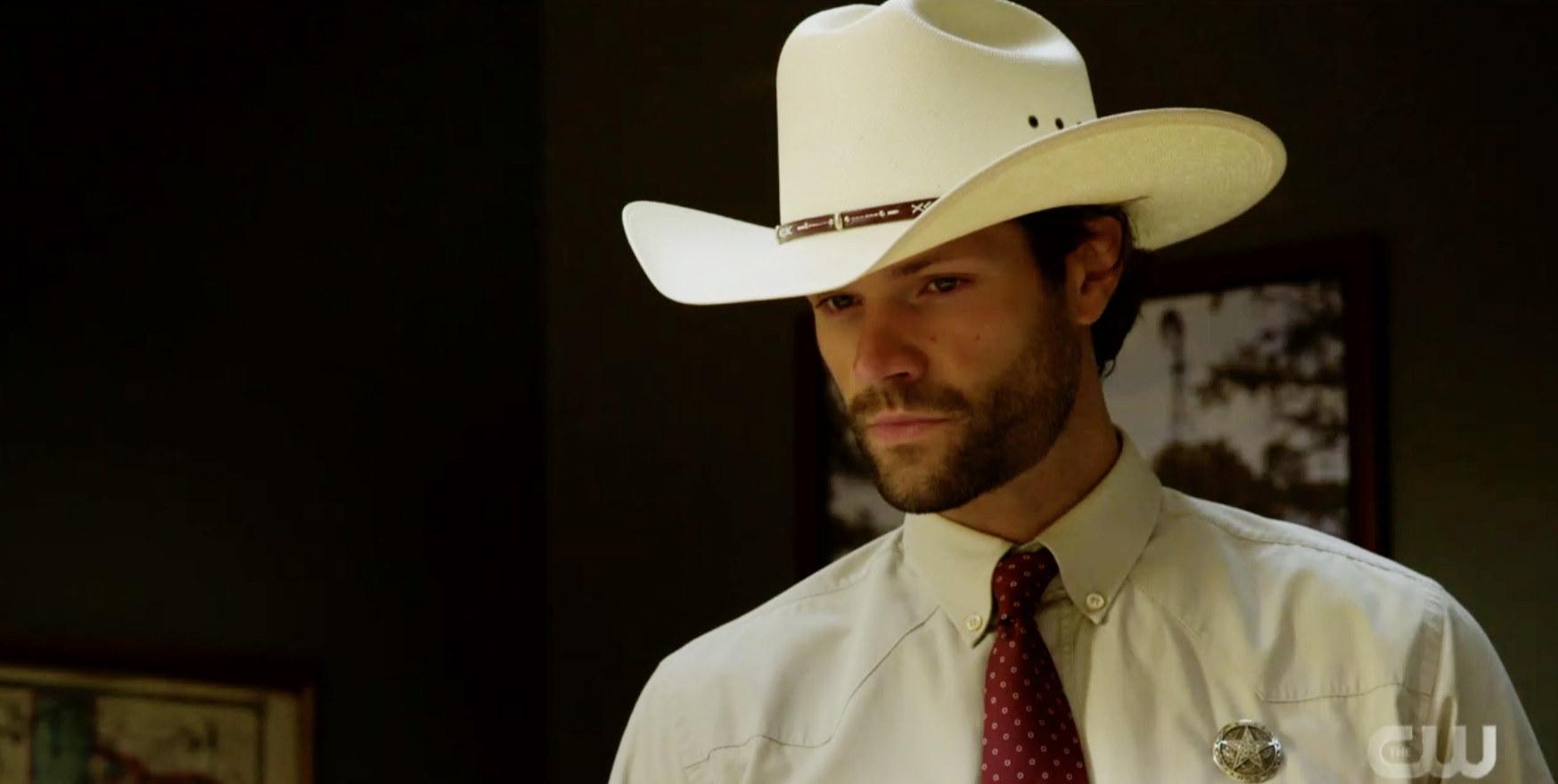"""Jared Padalecki as Cordell Walker in """"Walker"""""""