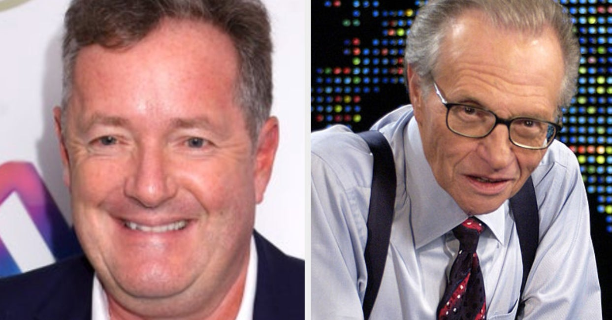Piers Morgan's Tweet About Larry King's Death Is Really Rude And Weird
