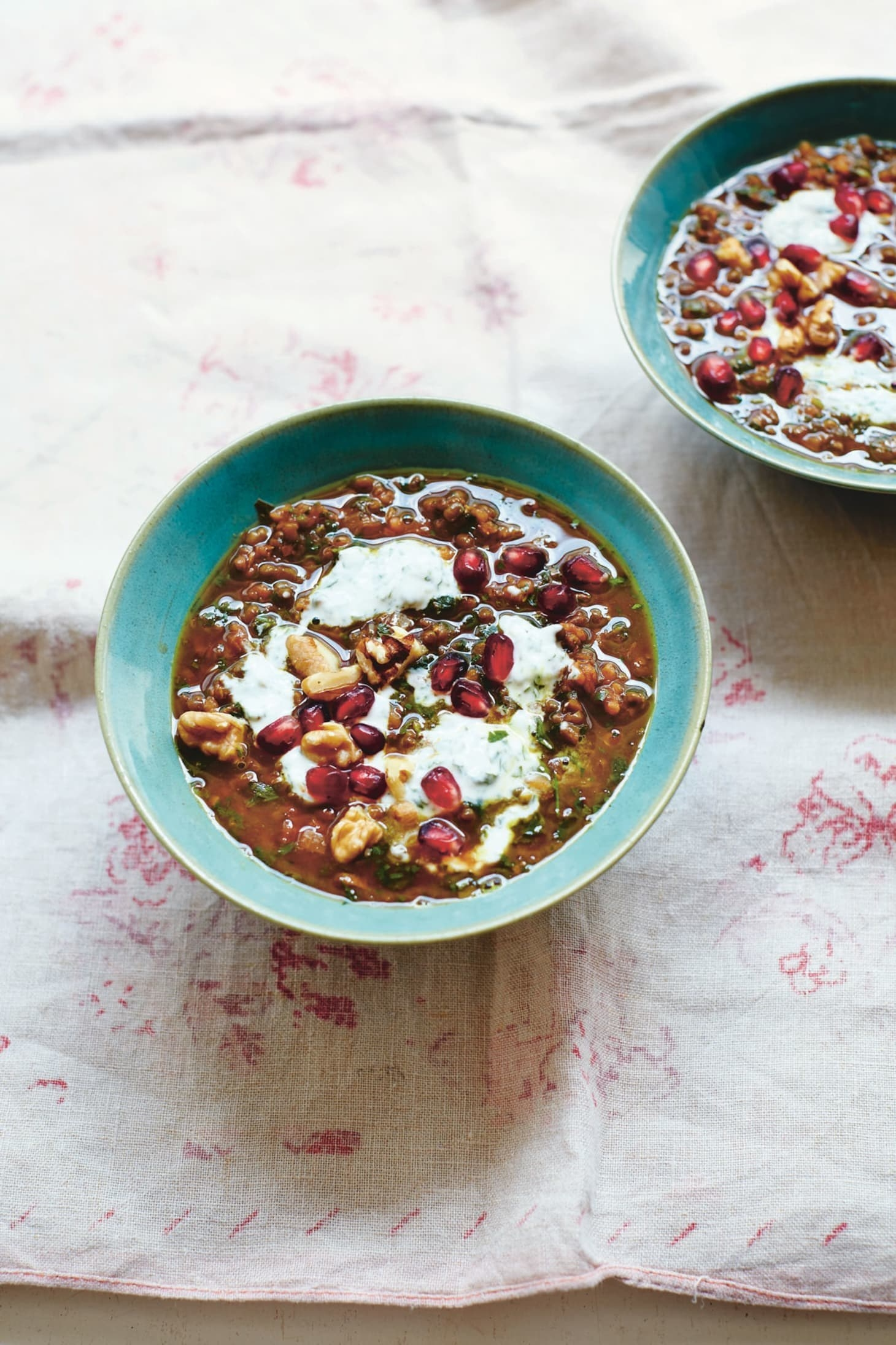 Iranian pomegranate soup