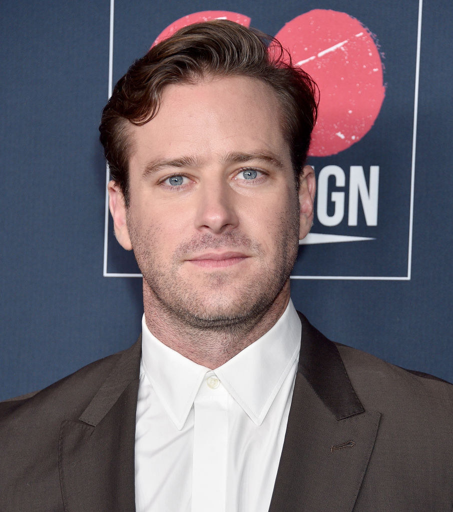 Armie Hammer arrives at the Go Campaign's 13th Annual Go Gala at NeueHouse Hollywood