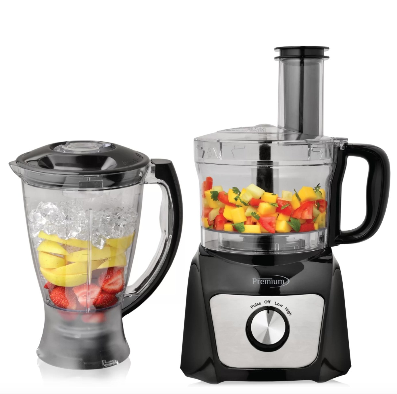 The blender food processor combo