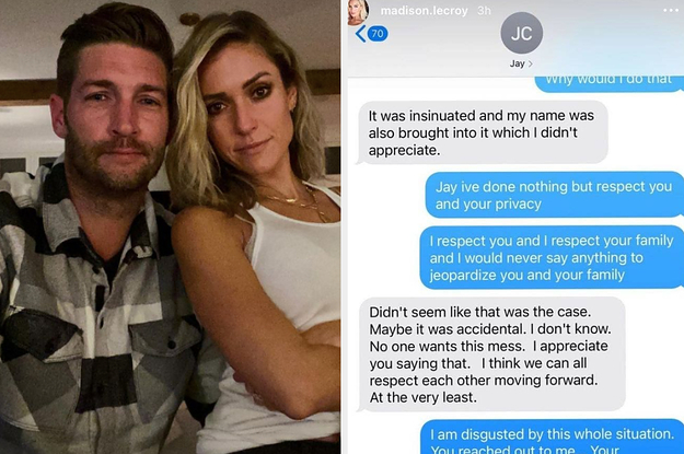 Kristin Cavallari, Jay Cutler, And Madison LeCroy Are Messily Feuding All Over Instagram And The Drama Is Wild