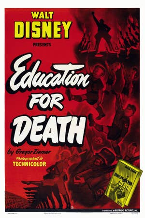Poster for Education for Death propaganda film