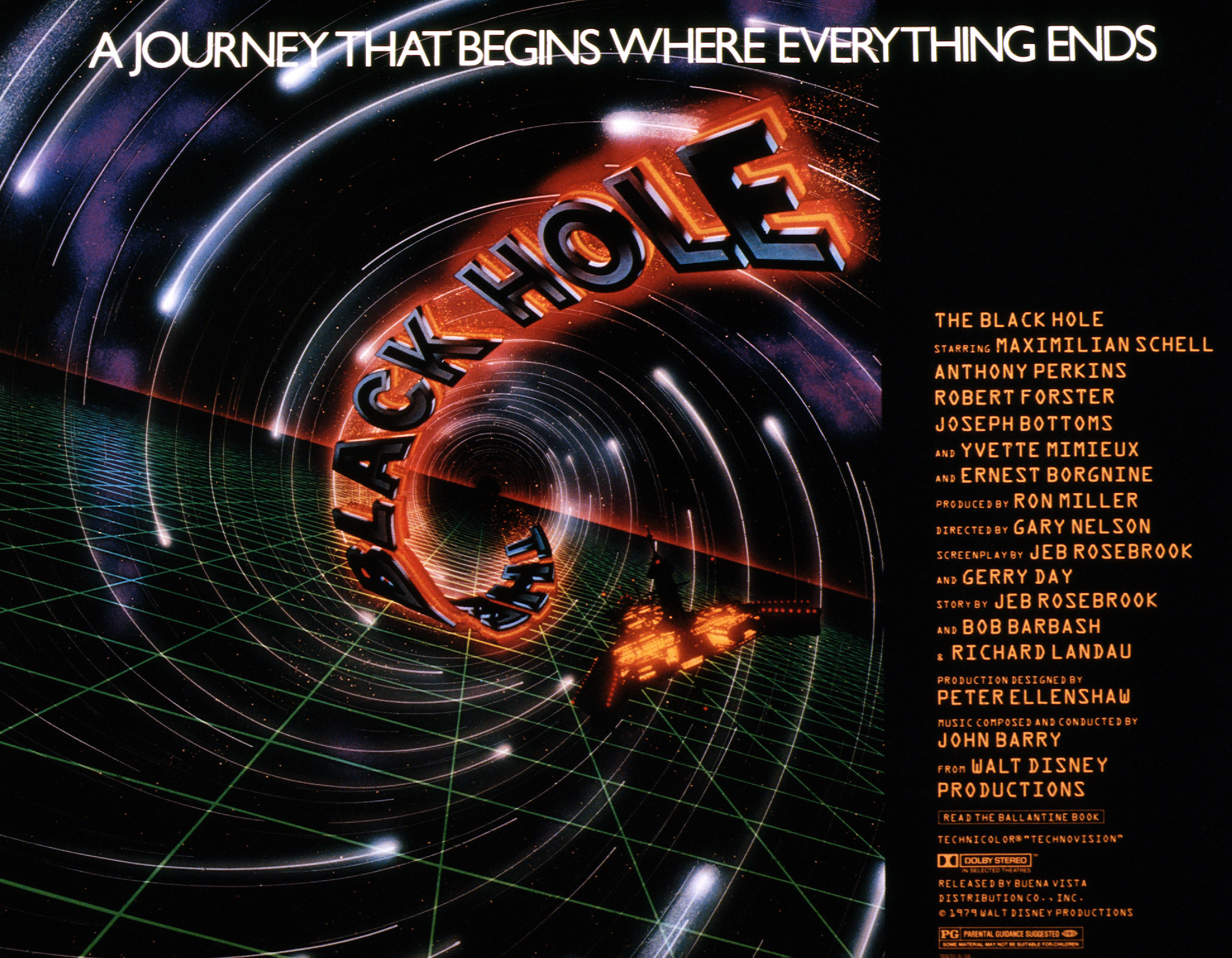 Poster for The Black Hole movie