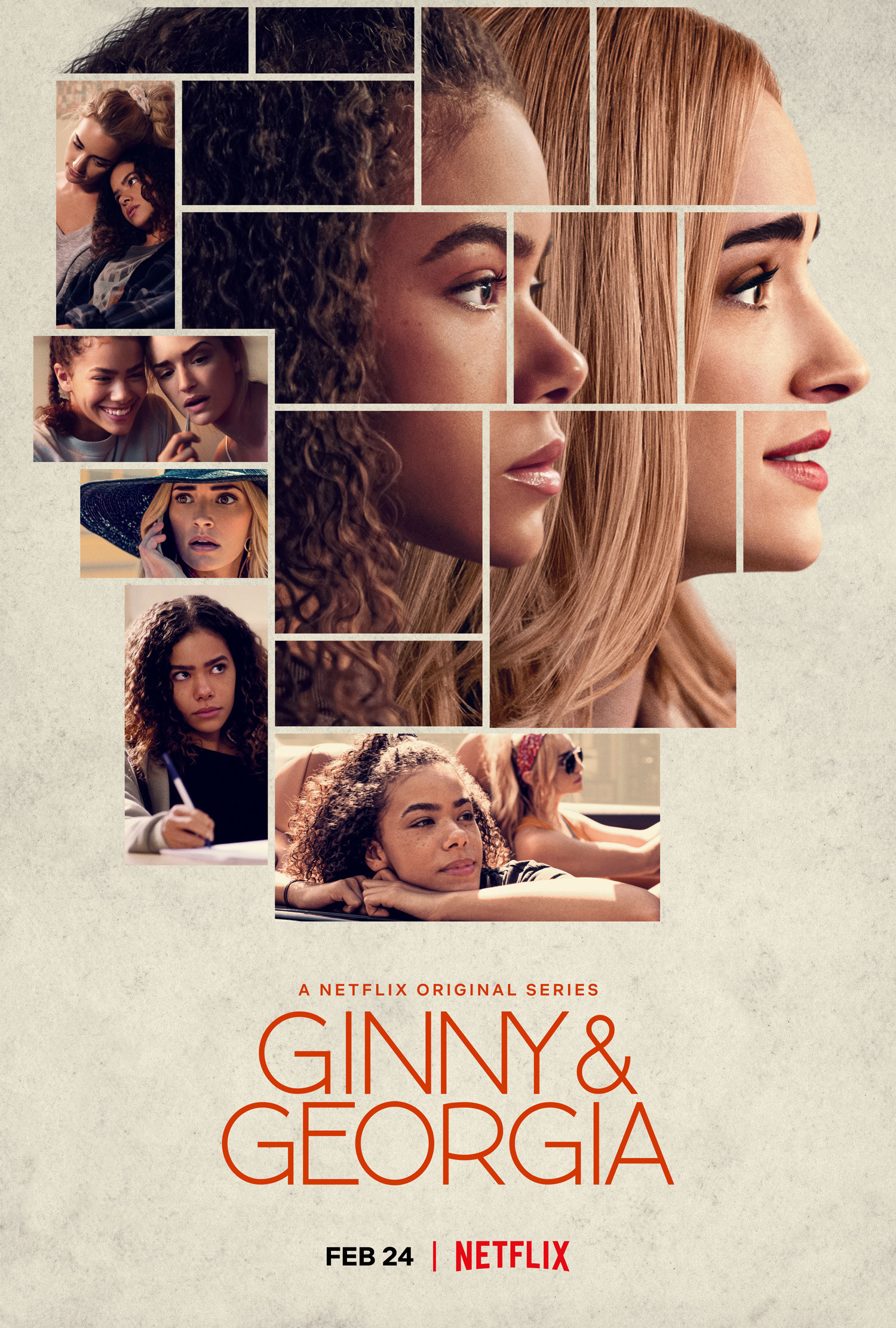 Ginny and Georgia promotional poster
