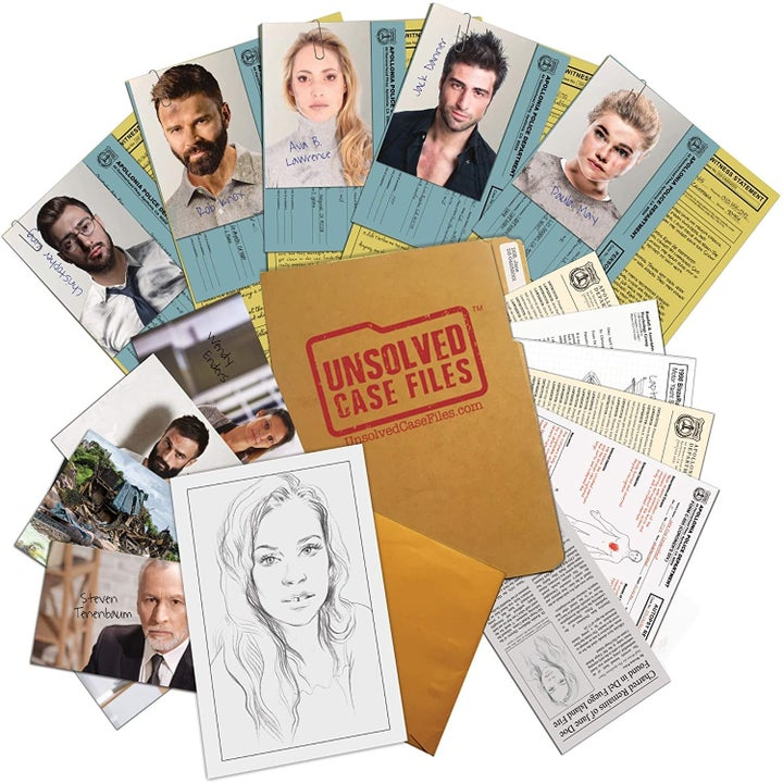 Contents of Unsolved Case Files