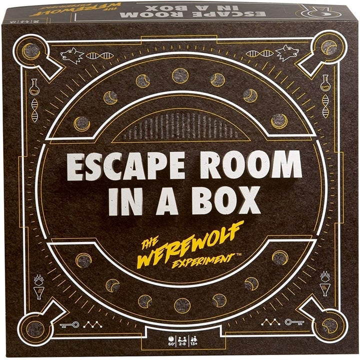 Front cover of Escape Room in a Box