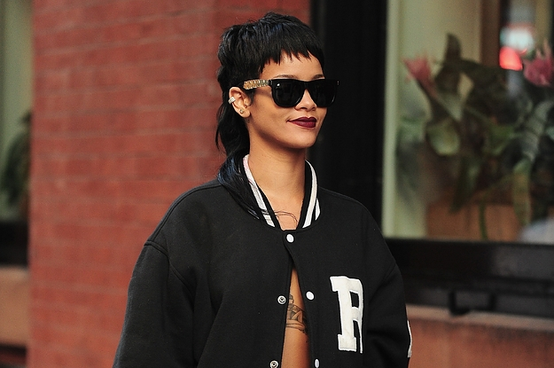 13 Times Rihanna Made Mullets Look Good