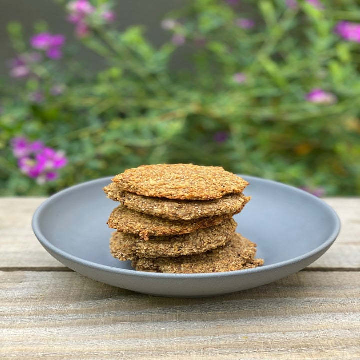 Quick spiced-up breakfast cookies
