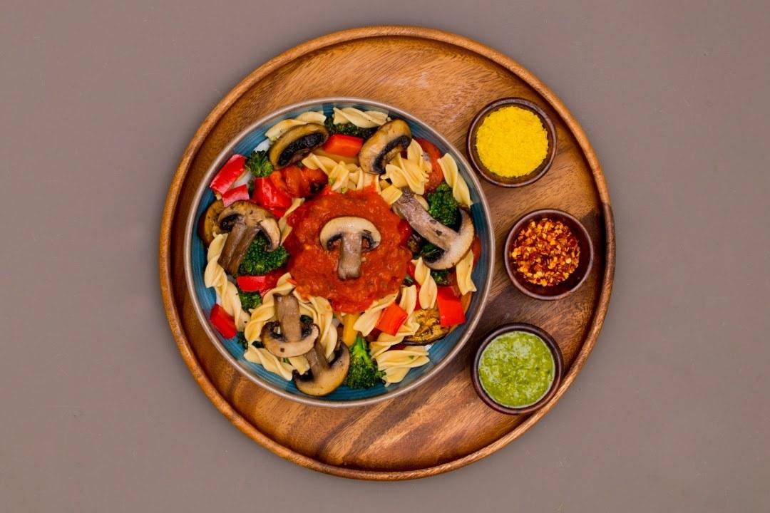 Three-Ingredient Protein Pasta