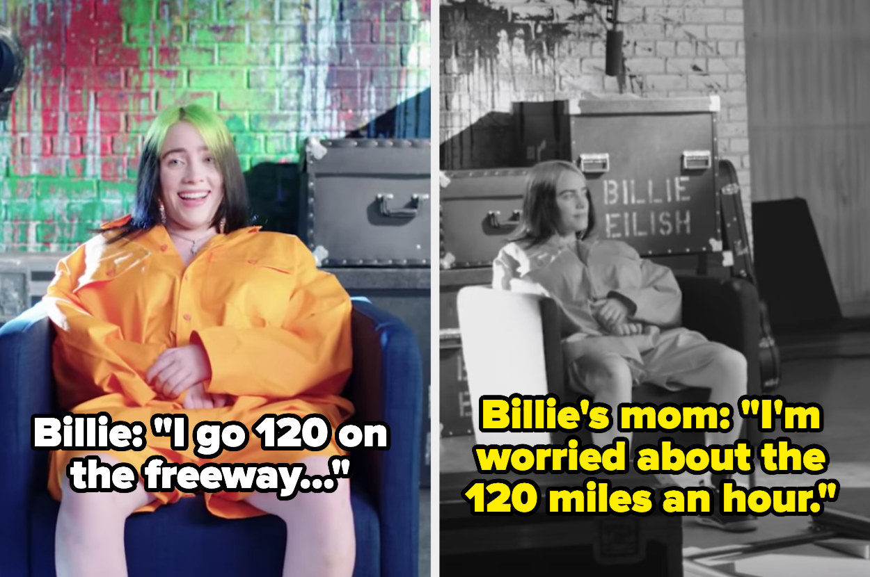 "Billie's mom: ""I'm worried about the 120 miles an hour"""