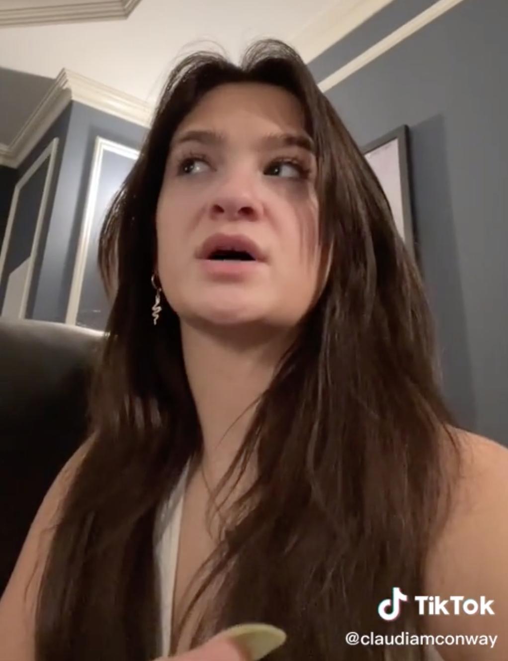 Screenshot of Claudia from Claudia's TikTok