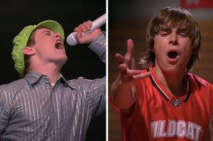 """Ryan and Troy singing in """"High School Musical"""""""