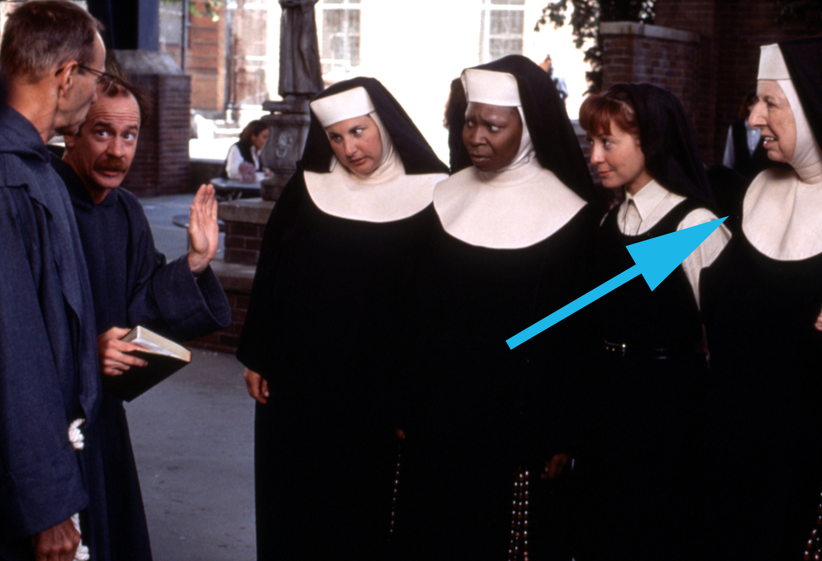 A shot from Sister Act 2