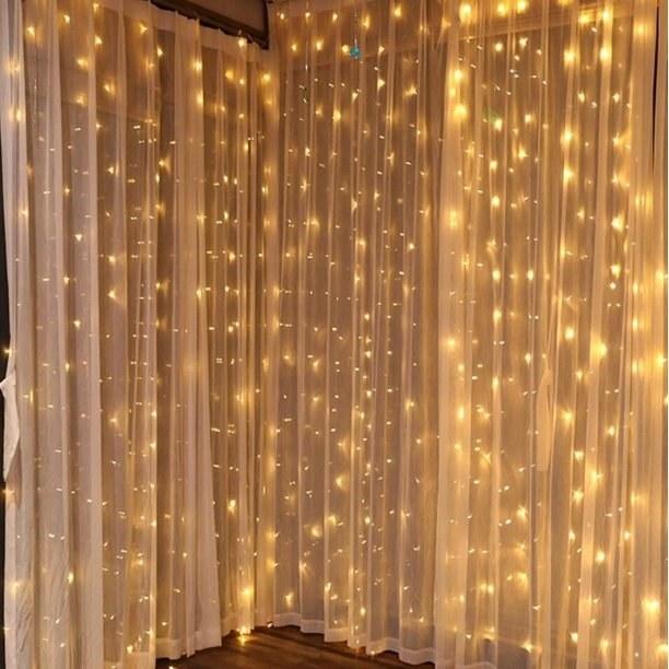 The LED string lights