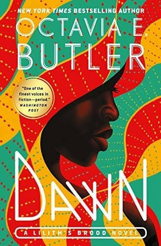 The cover of Octavia Butler's Dawn