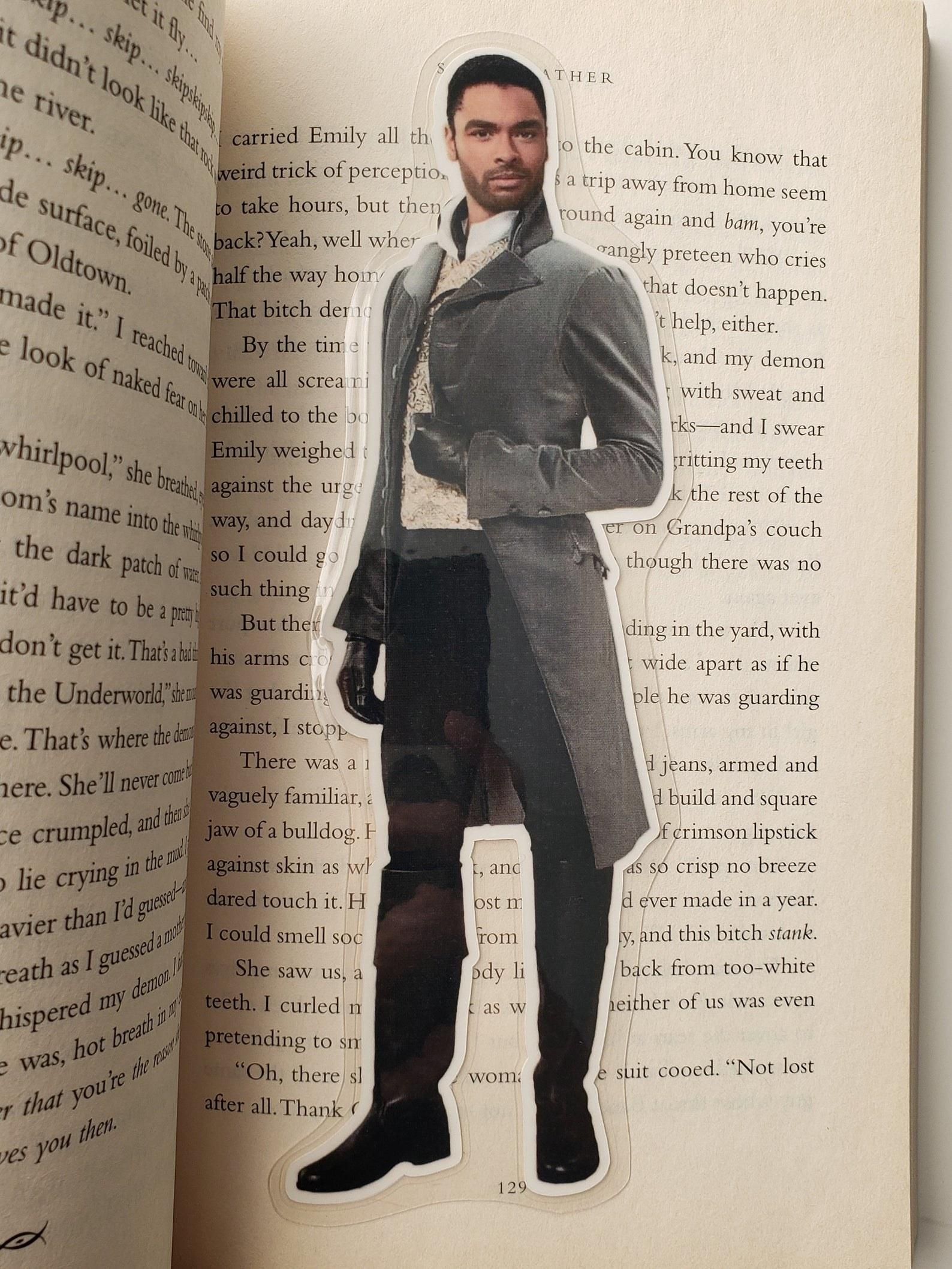Duke of hastings bookmark