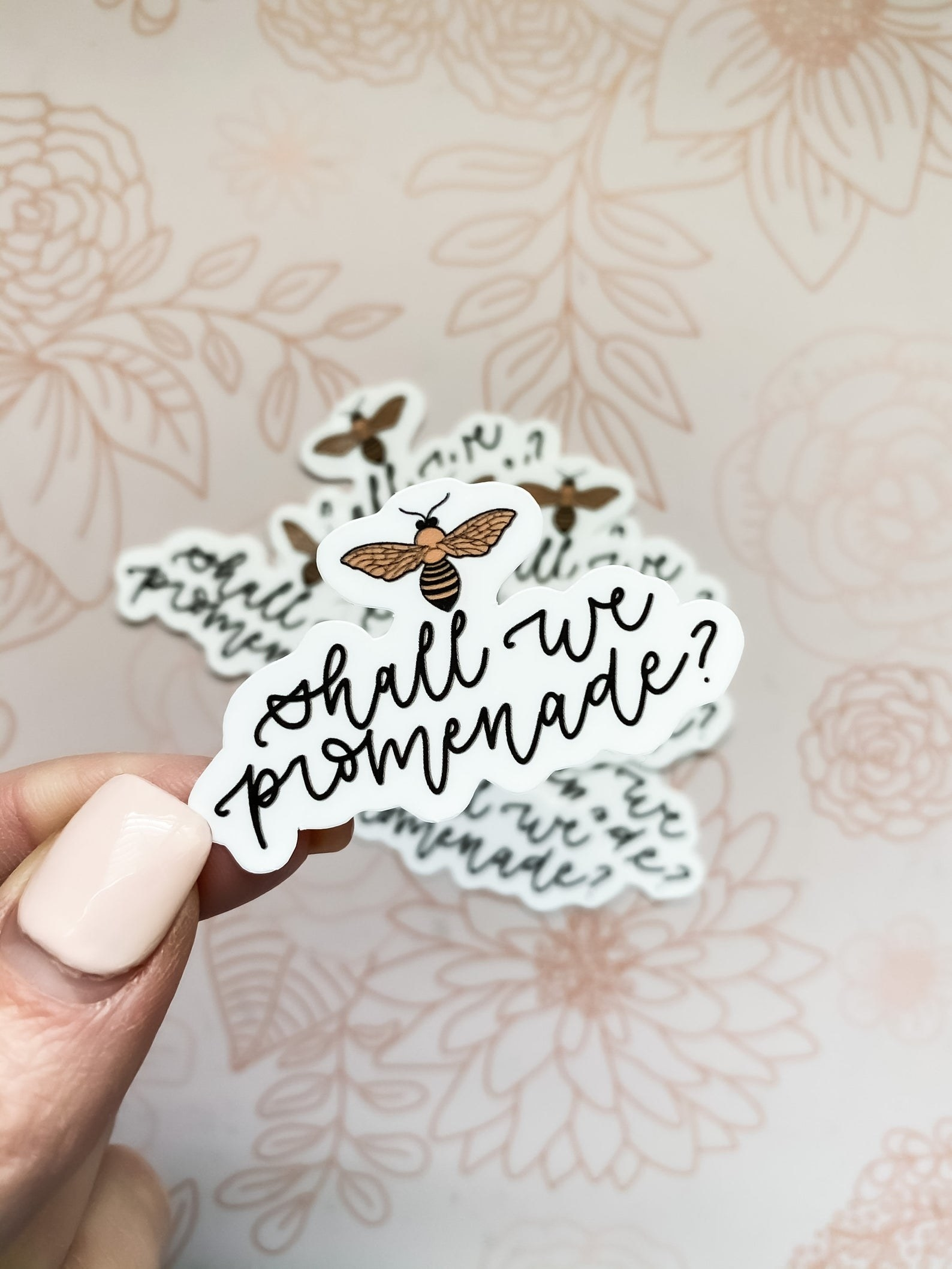 shall we promenade sticker