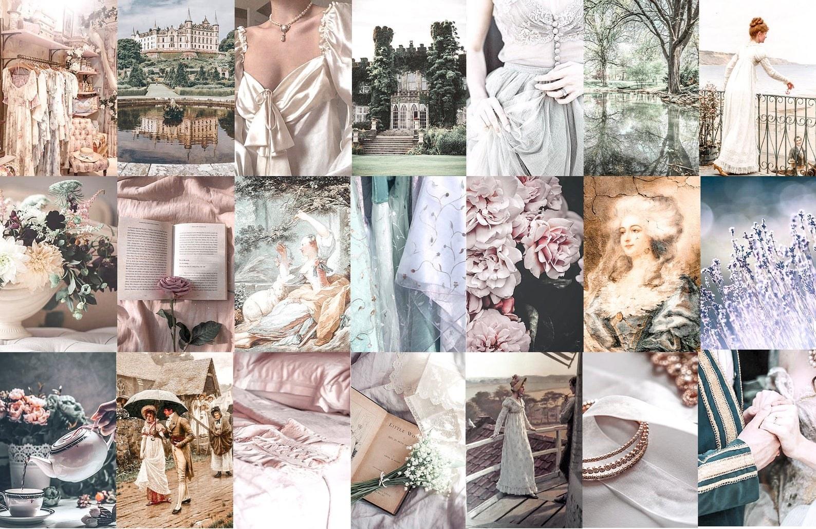 bridgerton aesthetic wall collage downloads