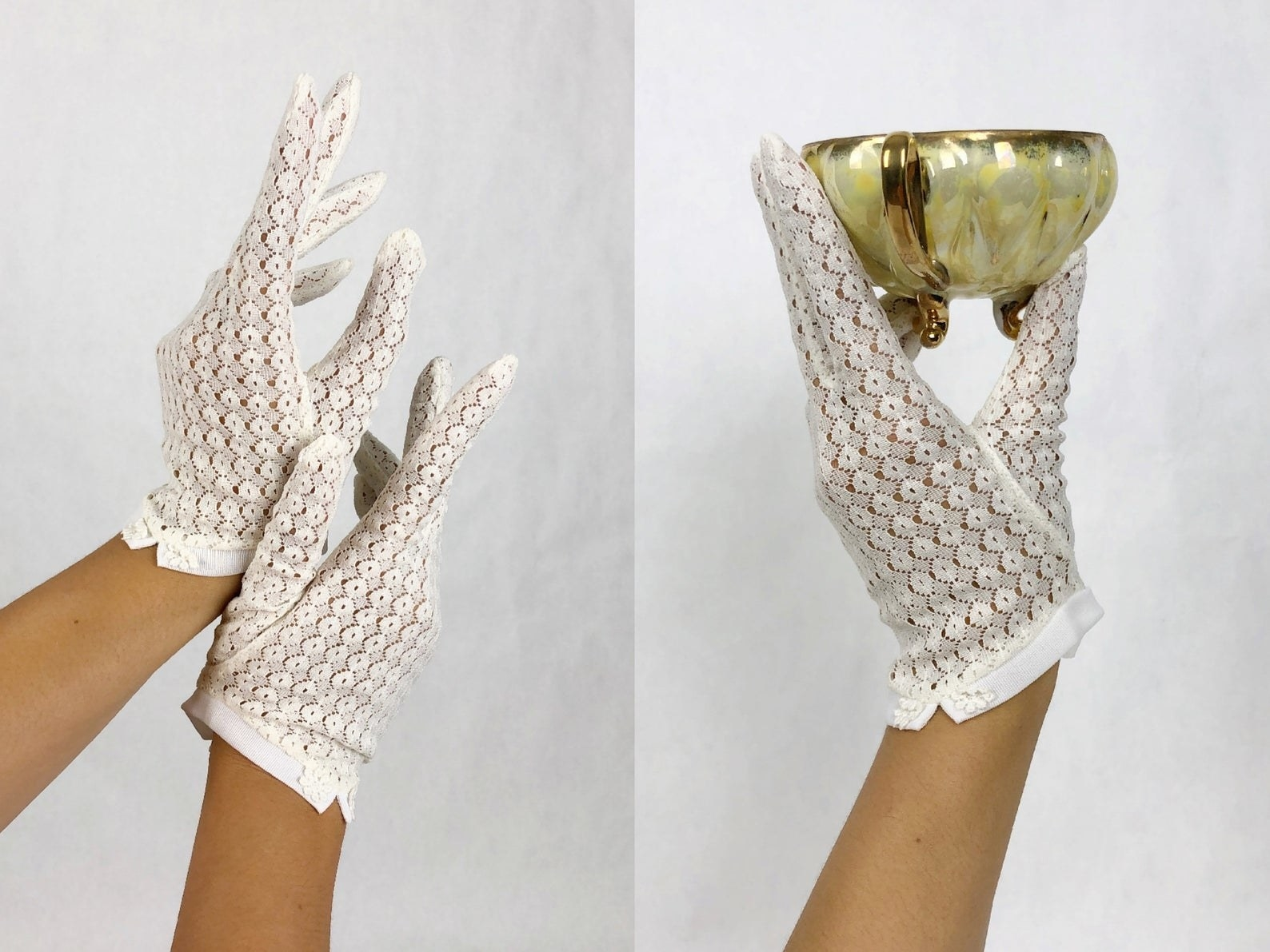 lace glove set