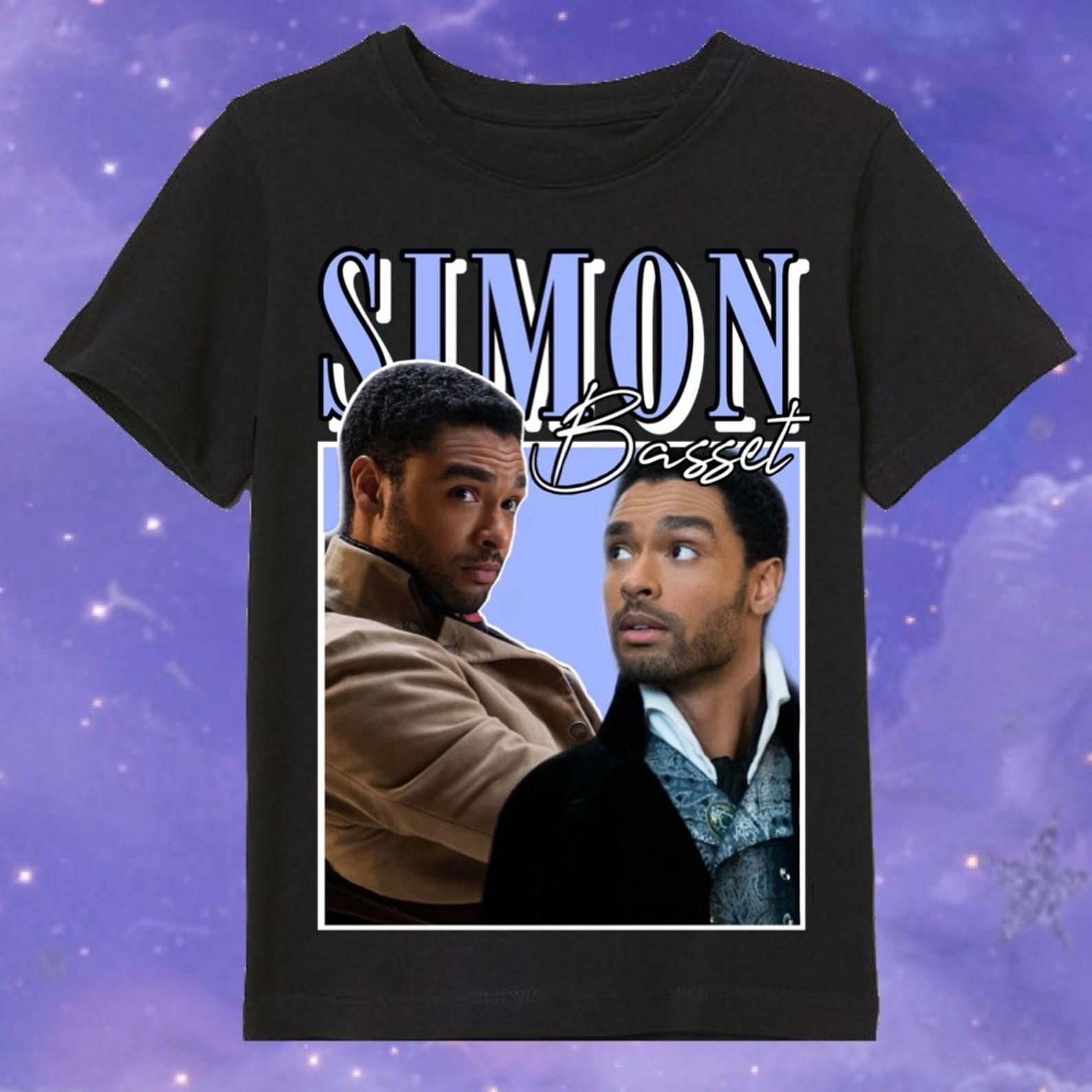 simon basset 90's inspired shirt