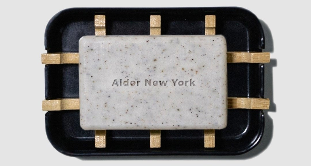 alder new york cleansing bar and soap dish
