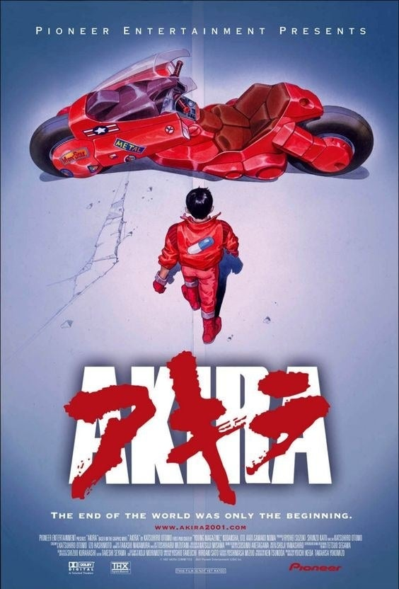 The Akira movie poster