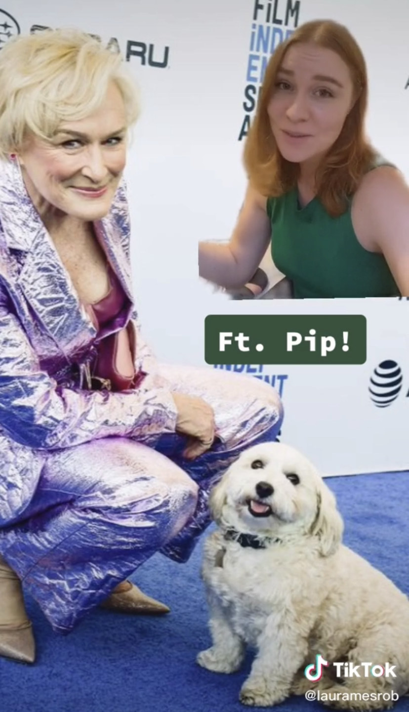 Glenn Close and a TikTok server