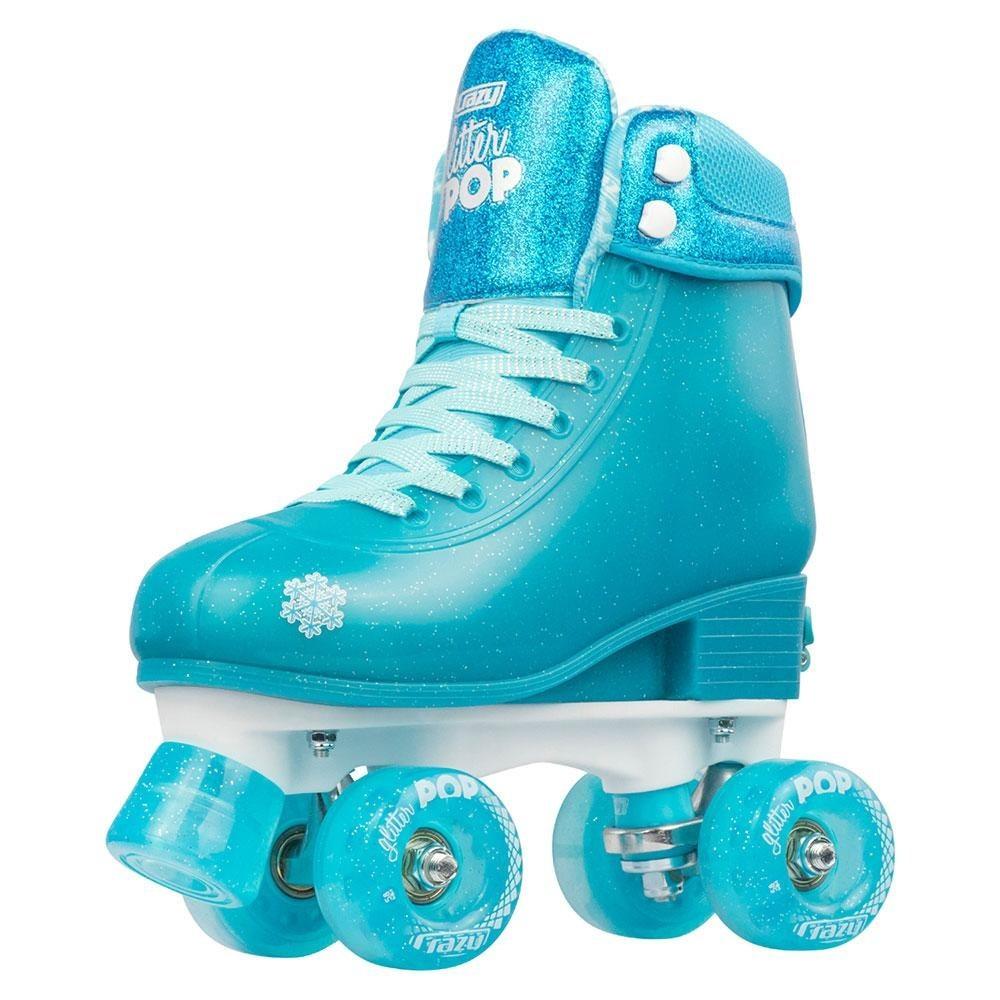 a Crazy Skates Glitter Pop Roller Skate