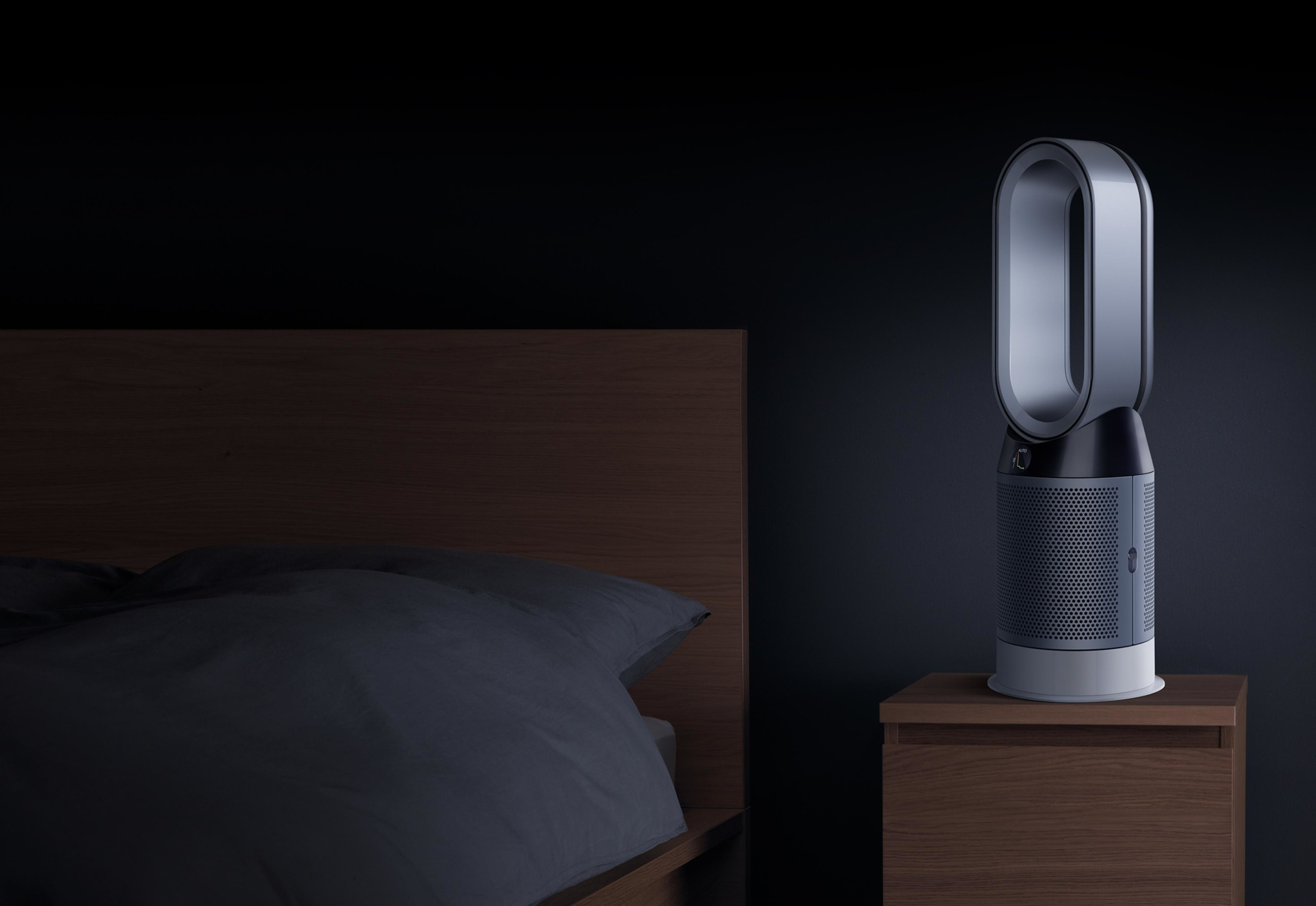 The device on a nightstand