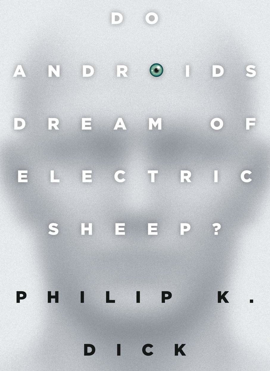 The cover of Do Androids Dream of Electric Sheep