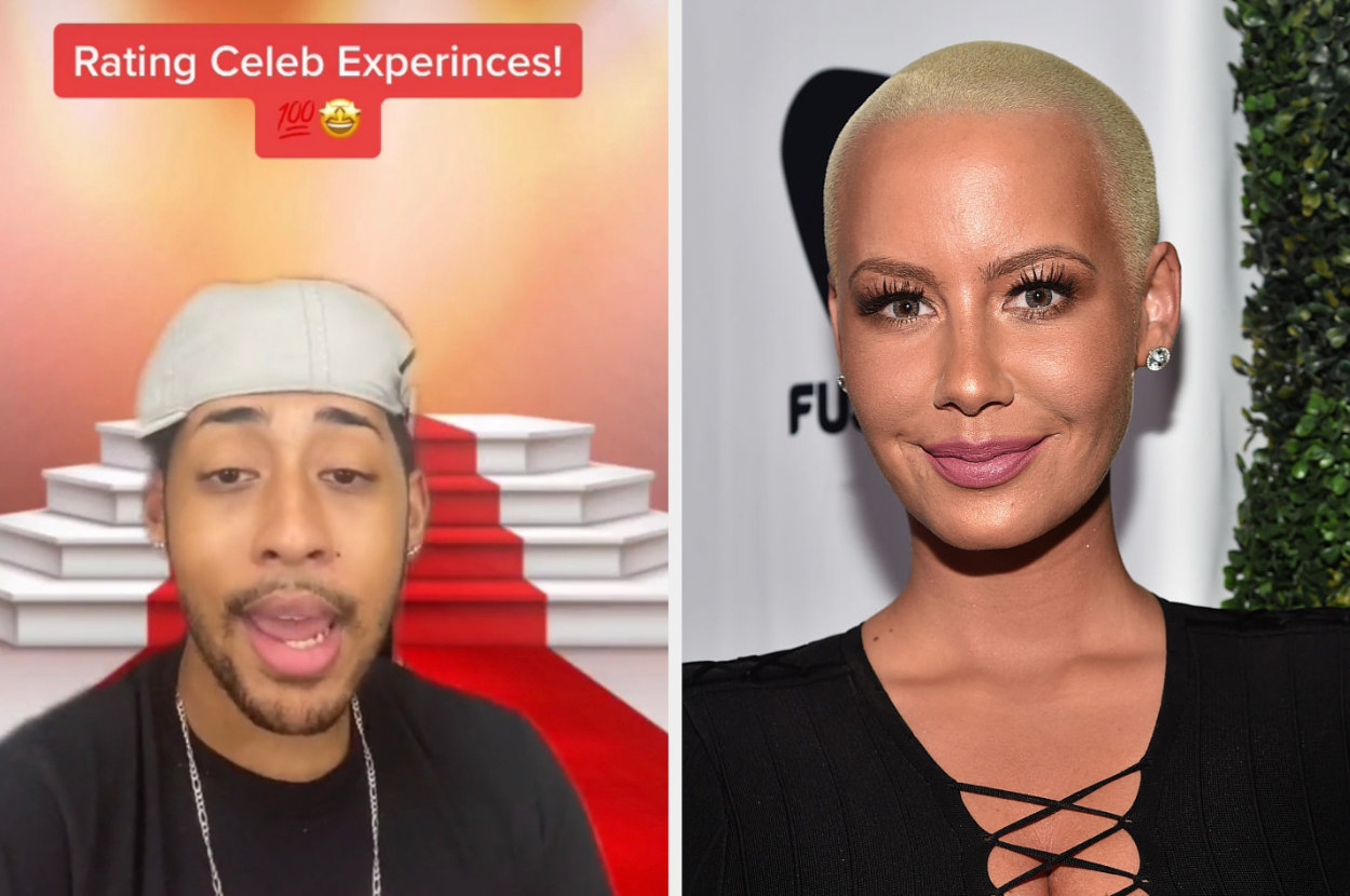 Amber Rose and a TikTok barista