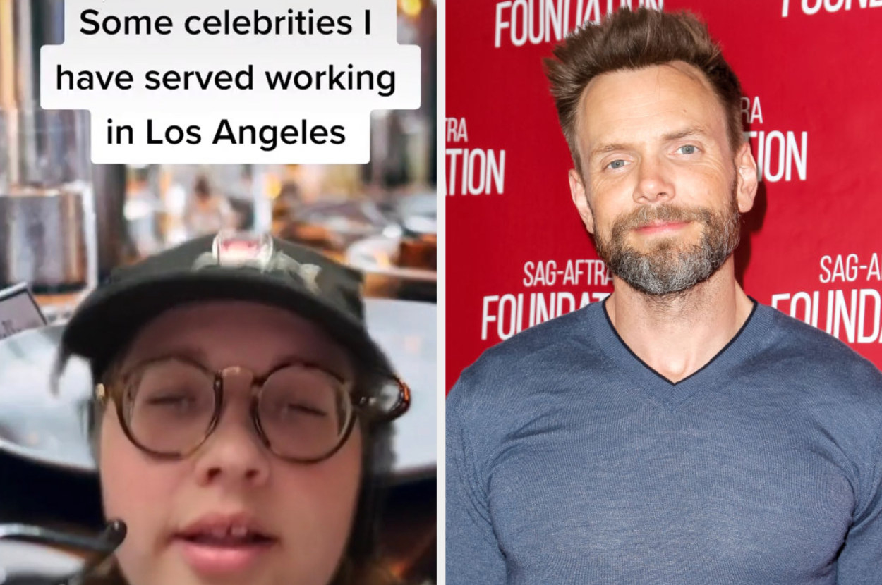 Joel McHale and a TikTok server