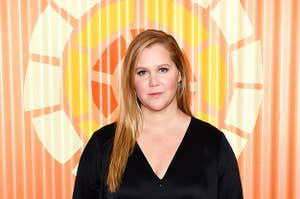 Amy Schumer attends Charlize Theron's Africa Outreach Project Fundraiser at The Africa Center on November 12, 2019 in New York City