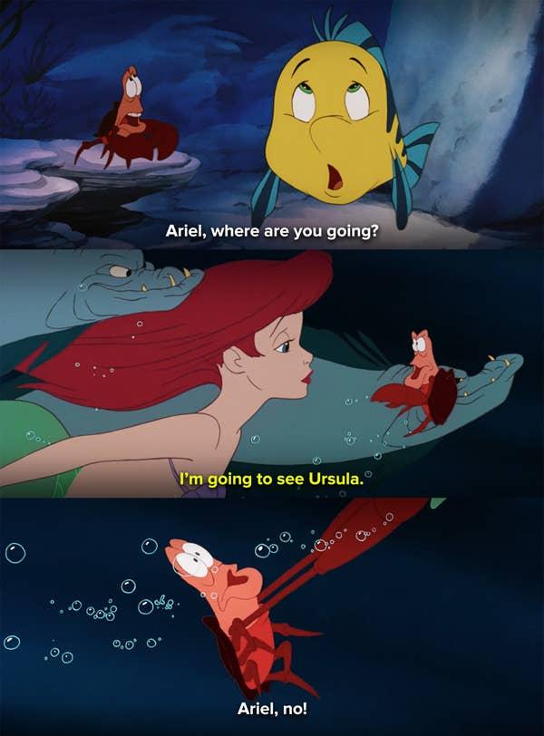 Ariel from The Little Mermaid heroes