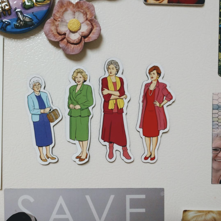 the four illustrated magnets
