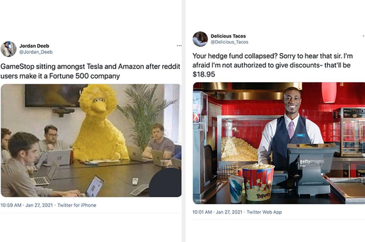 Best Gamestop Stock Reddit Wall Street Memes And Tweets