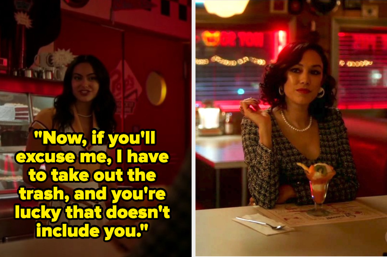 Veronica and Hermosa talking in pop's