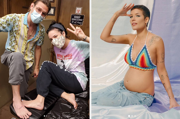 Halsey And Her Boyfriend Got Matching Tattoos Months Before Announcing She Was Pregnant And The Meaning Behind It Is Adorable