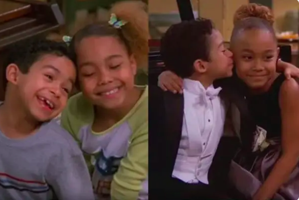 """Stills of Franklin and Kady from """"My Wife and Kids"""""""