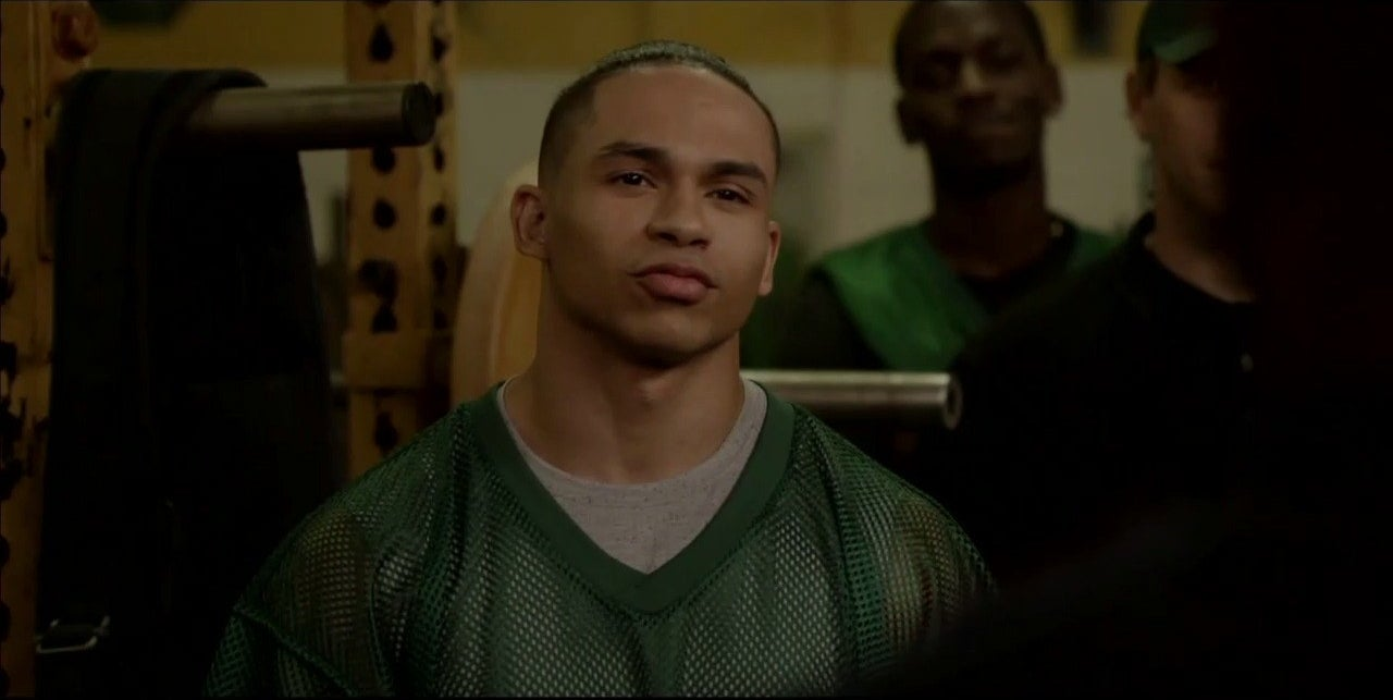 """A still of Noah Gray-Cabey from """"All American"""""""