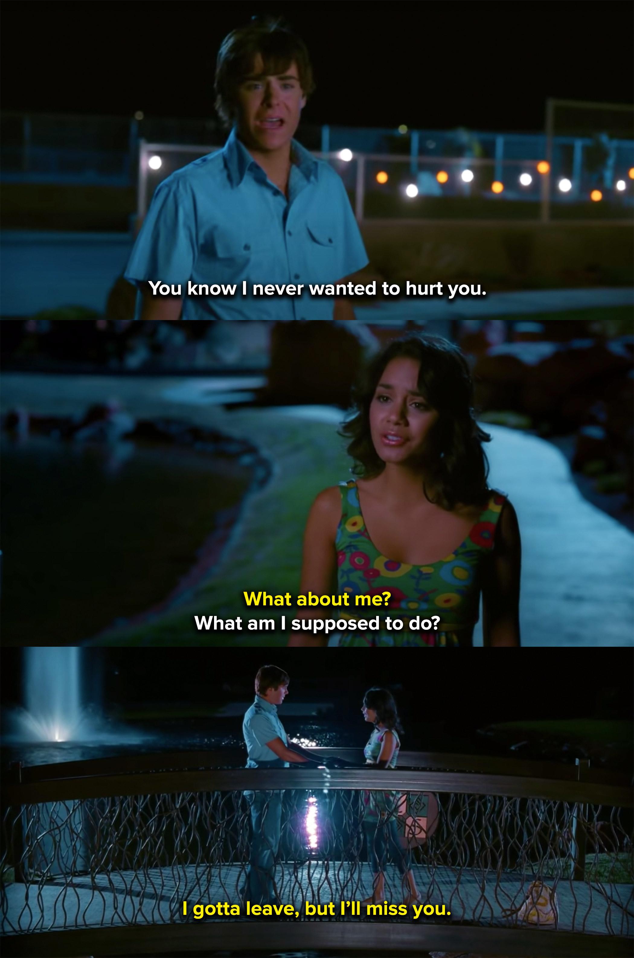 Gabriella breaks up with Troy