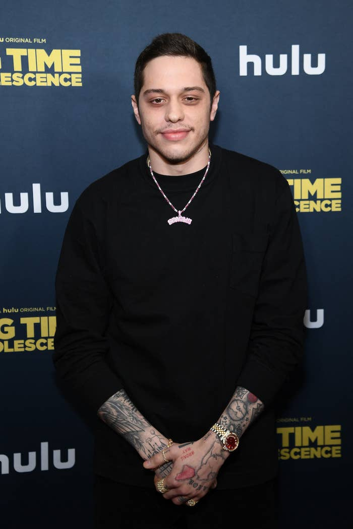 """Pete Davidson attends the premiere of """"Big Time Adolescence"""""""
