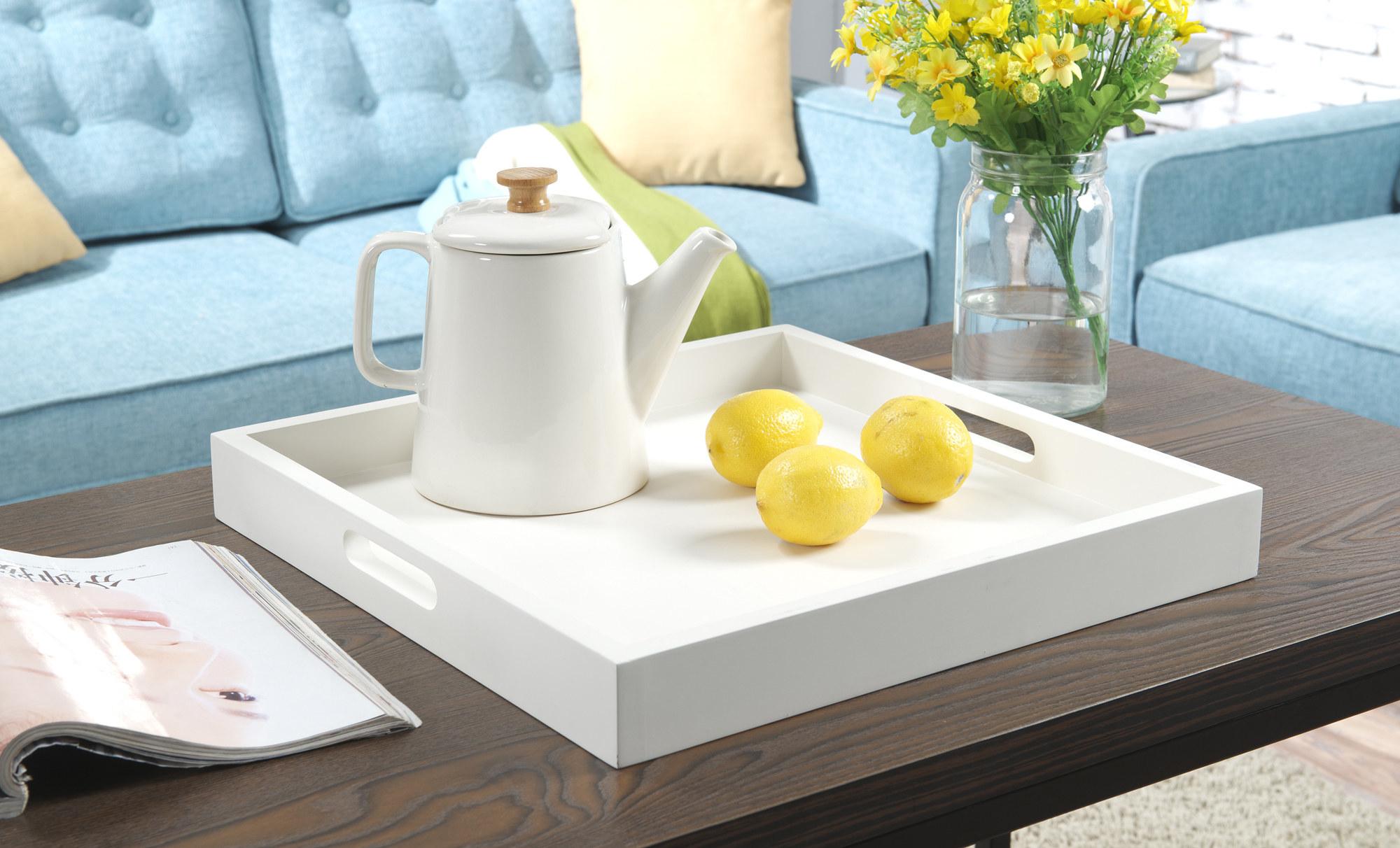 The white tray