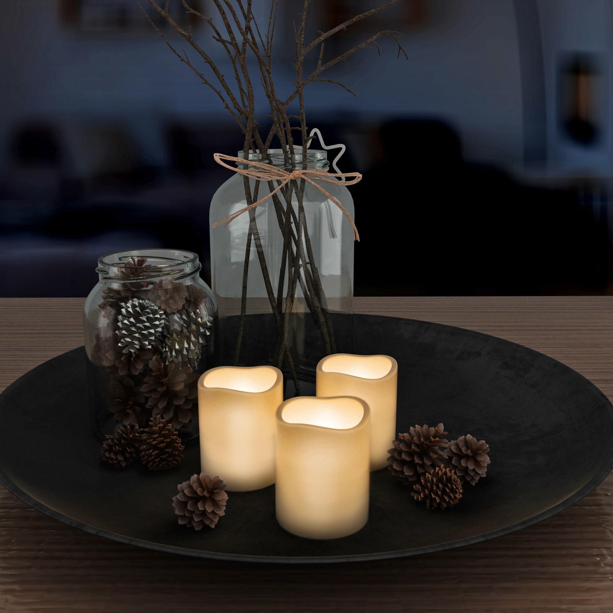 The LED candle set