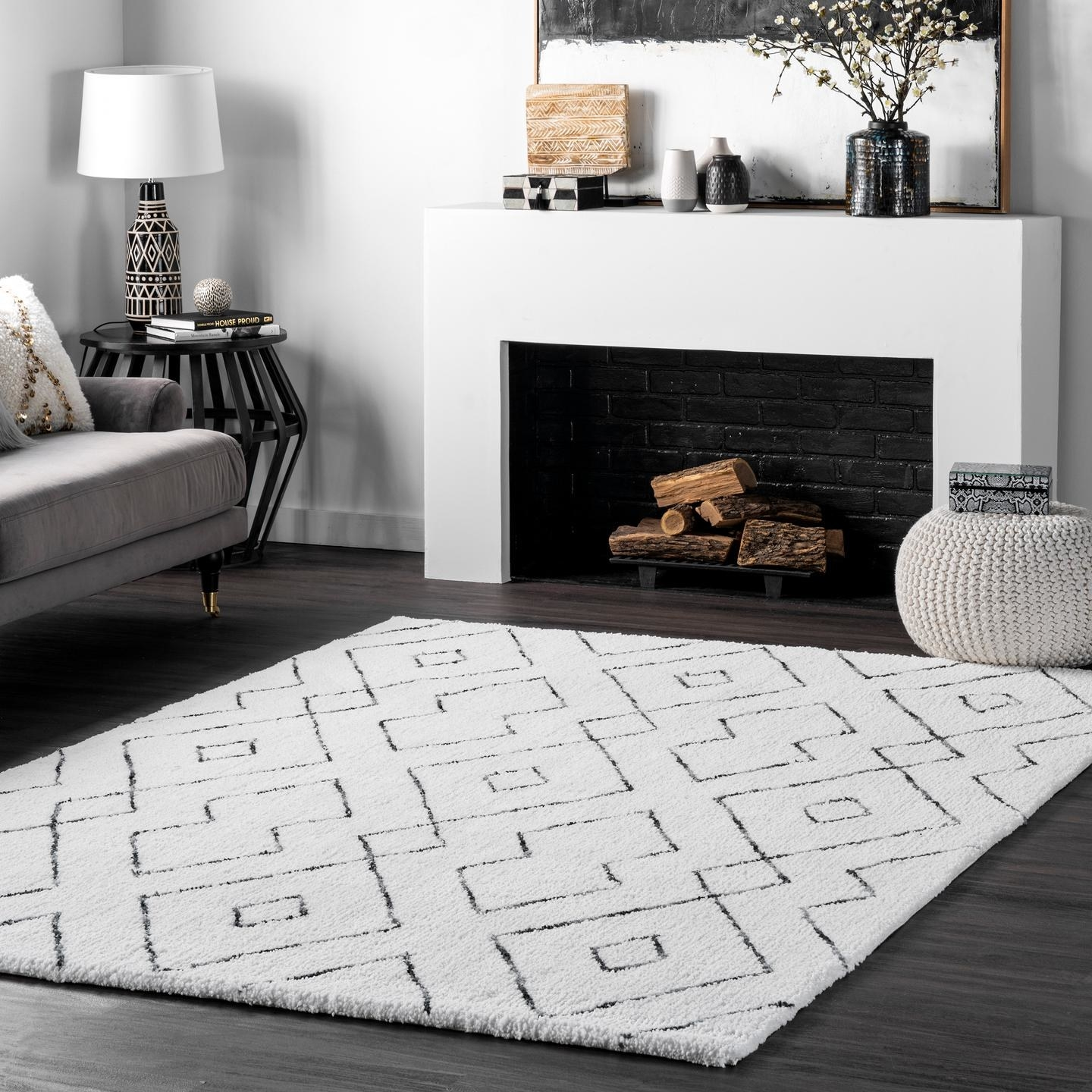 The area rug