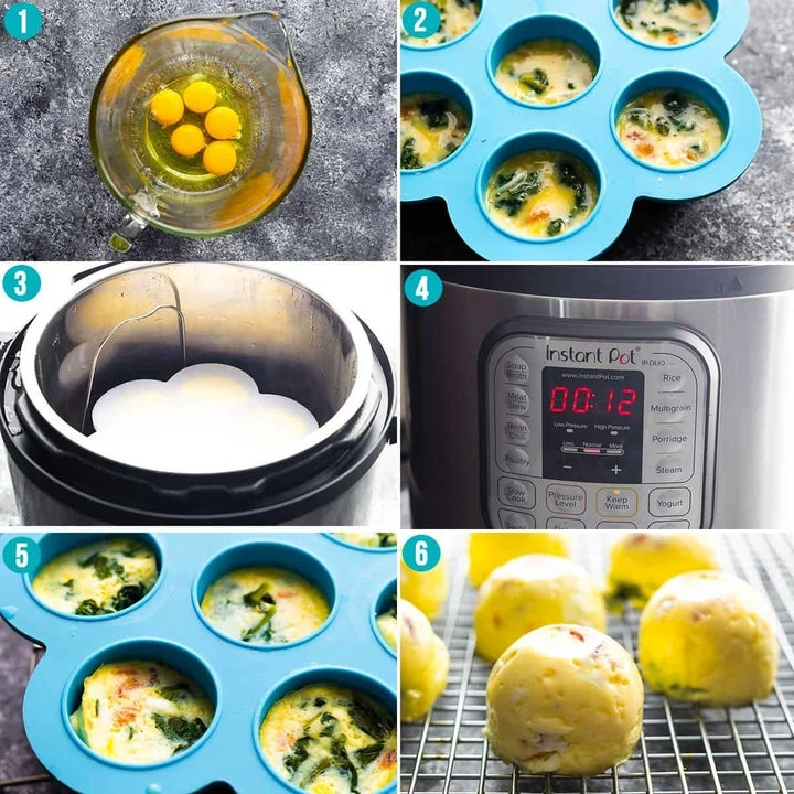 Step by step of the recipe