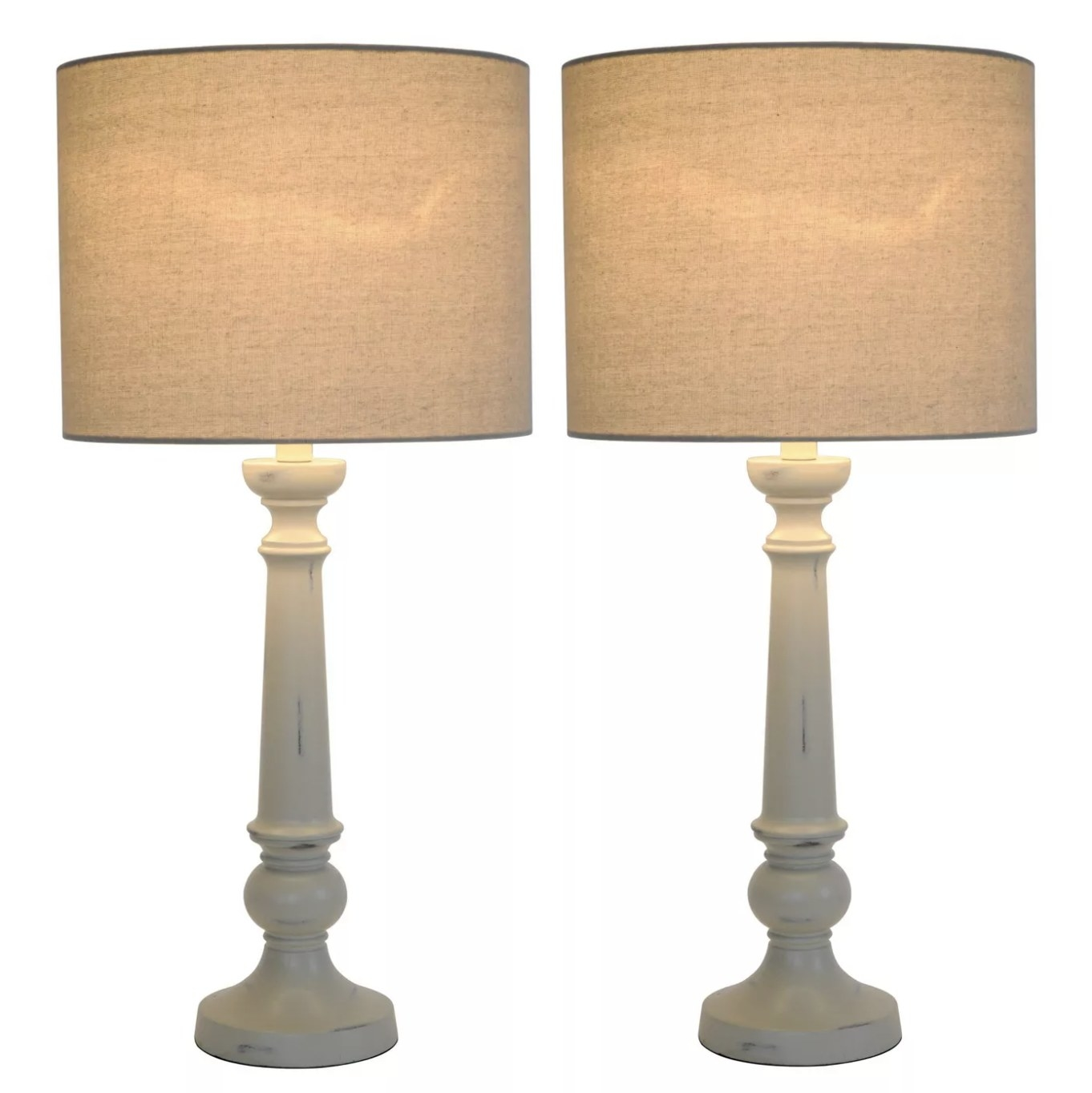 The two lamps