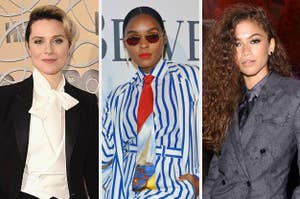 Evan Rachel Wood, Janelle Monáe, and Zendaya