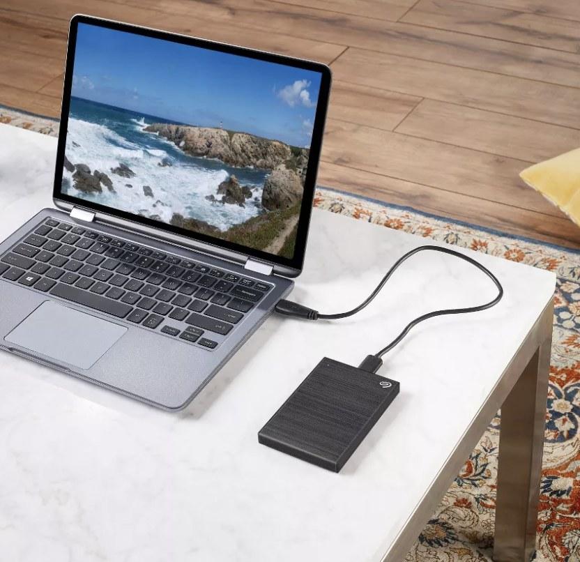 The external hard drive